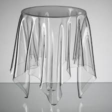clear acrylic illusion table by john brauer acrylic furniture uk