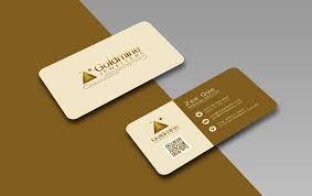 Free Logo Rounded Corner Business Card Design Template Mock Up