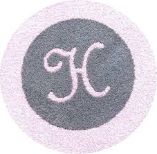 round pink rugs for nursery gray and pink rug primary round pink rugs for nursery for round gray rug with light pink border and initial pink grey nursery