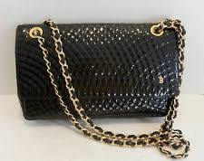 Bally Quilted: Handbags & Purses | eBay & Bally Quilted Black Patent Vintage Shoulder/cross body evening bag Vintage Adamdwight.com