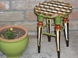 whimsical furniture and decor. whimsical hand painted stool oneofakind furniture by tressuzette 3500 and decor d