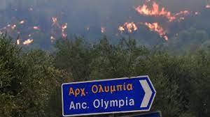 Yunanistan'da alevler Olimpiya'ya ulaştı - Son Dakika Haberleri