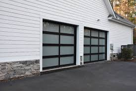 full view garage doorFrosted Glass