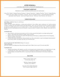 Sample Resume For Adjunct Professor Position Fascinating Sample Resume For Teacher Assistant Position A Objectives Preschool