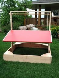 luxury kidkraft outdoor sandbox with canopy
