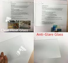 non glare photo frame glass on