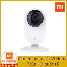 Mua Camera giám sát Yi Home 720p HD quốc tế Giá Tốt Nhất, Chính Hãng giá  tháng 6/2021