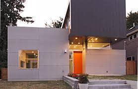 modern front door orange. Modern Front Doors - Freshome.com Door Orange