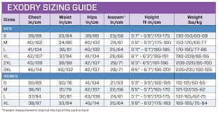 Scubapro Exodry Size Chart Exodry Drysuit 4mm Men