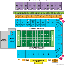 K State Football Stadium Seating Chart Wagner Field At Bill Snyder Family Stadium Tickets Wagner