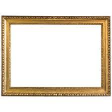 frame. Golden Biedermeier Frame Egg And Dart, Austria Circa 1825 For Sale At 1stdibs K