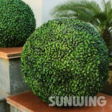 Decorative Boxwood Balls Plastic Boxwood Balls 100cm Diameter Grass Buxus Ball For Festival 46