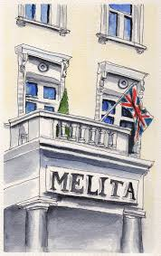 Hotel Melita Doodlewashar Back In The Day Of Double Cheeseburgers