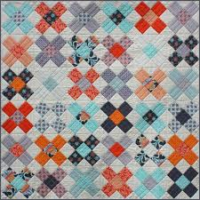 Cross Quilt Pattern Interesting Kings Cross Quilt Pattern Stitchbird Fabrics