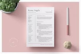 Professional Resume Template Word Resume Templates Creative Market