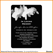 Funeral Invitation Templates 24 Funeral Invitations Templates Free Agile Resumed 7