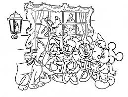 Small Picture Printable 24 Mickey Mouse Christmas Coloring Pages 5770 Mickey