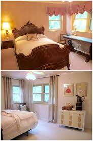 Pink And Cream Bedroom Before And After Pink Bedroom Benjamin Moore Ballet White Walls