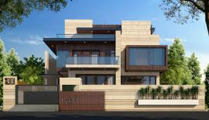 Indian Roof Boundary Wall Design The Client Wanted A Family Residence In This High Profile