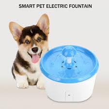 Creative <b>Smart Automatic Electric</b> Fountain Pet Drinking Bowl Water ...