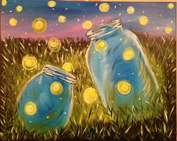 Wine And Design Greenville Nc Calendar Fireflies Wine Painting Painting Wine Canvas