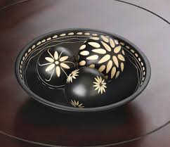 Decorative Bowl With Orbs Orbs Decorative Balls With Bowl Decorative Wood Balls For Bowls 52