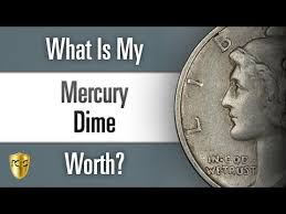 1938 Dime Value Chart What Is My Mercury Dime Worth Youtube