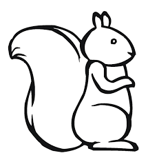 Small Picture Squirrel Coloring Page For Kids Pattern Design Ideas Pinterest