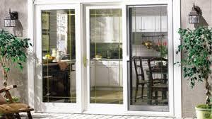 images of sliding glass door off track
