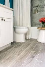 Wood Tile Flooring Bathroom Wood Grain Tile Flooring Bathroom