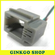 network jack wiring reviews online shopping network jack wiring 100pcs lot 4p4c rj11 wired jack cable network socket 4 core cable socket female 616ms 4p4c