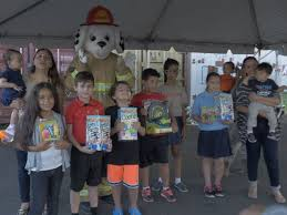 photo toys for tots partnered with hasbro inc and private charter pany hillwood airways