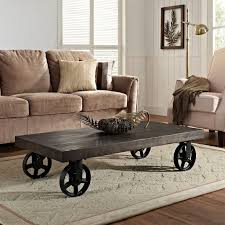 coaster furniture coffee table with casters