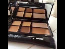 first impression freedom makeup cream contour palette