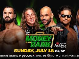 Money in the Bank ladder match ...