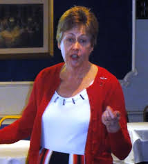 Janet Brewer the Soldiers Sailors and Airmen Families Association - Rotary  Club of Hornchurch and Upminster