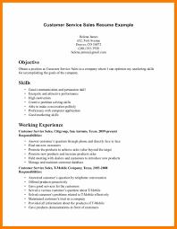 6 Resume Summary Examples For Customer Service Activo Holidays