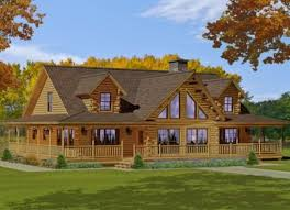 custom log home floor plans katahdin
