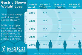 Monthly Weight Loss Chart Gastric Sleeve Weight Loss Timeline Chart 2019 What To