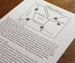 3 ways to make a wedding map letterpress wedding maps and Wedding Invitation Direction Inserts custom letterpress wedding directions and map card wedding invitation direction inserts template