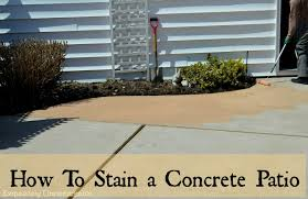 exterior stained concrete patio lovely how to stain concrete stainpatiowm how to stain concrete