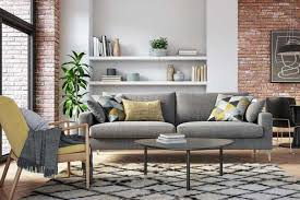 what accent chairs go with a gray sofa