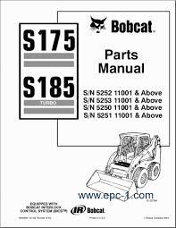 similiar bobcat parts keywords truck catalogs > bobcat > bobcat s175 and s185 turbo 12 2007