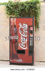 Chicken Wing Vending Machine Custom Coca Cola Soft Drink Self Serving Vending Machine Stock Photo