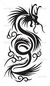 Rubahnya jdi kliatan kecil, kasiann. Tribal Dragon By Namistudio Graphicriver