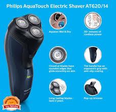 Máy cạo râu Philips xịn AT620 - Kèm đầu tỉa tóc mai và ria mép, Kho thiết  bị điện tử (Chuyên hàng cao cấp)