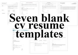 Resume Blank Form Download Resume Blank Template Emelcotest Com