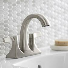 maxton bathroom faucet 2 handles brushed nickel