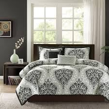 oliver california king comforter sets in black and white for astounding bedroom decoration ideas