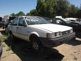 Junkyard Find: 1987 Chevrolet Nova Sedan - The Truth About Cars